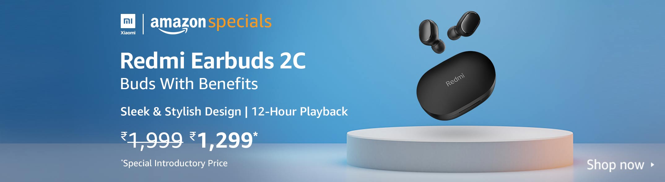 Amazon India Coupon for Redmi Earbuds 2C