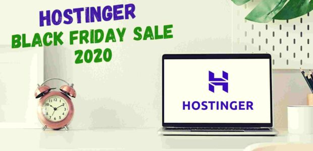 Hostinger Black Friday Deals 2020