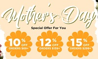 50% Off Mother's Day Sale - Extra upto 15% Off Bellelily Coupon Code