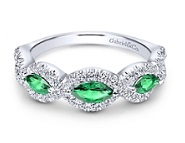 Birthstone for May at Gabriel & Co