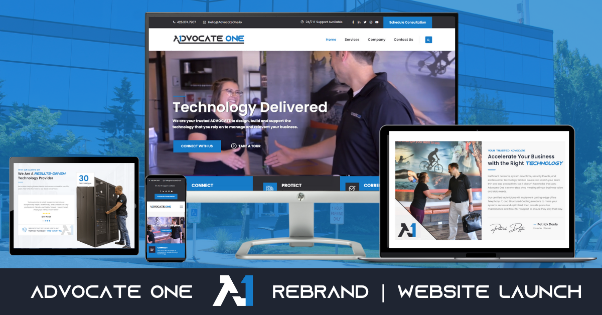 Rebrand and Website Launch   Advocate One