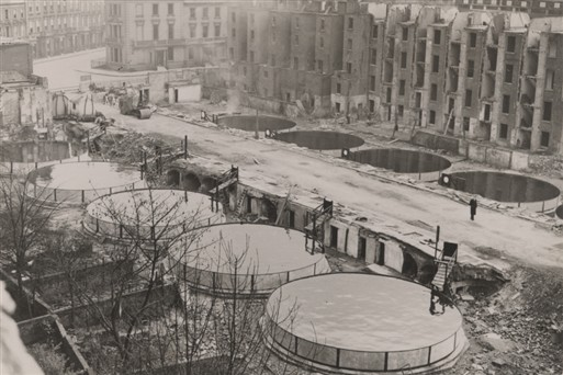 Static Water Tanks Sutherland Terrace (Copyright: Westminster City Archives)