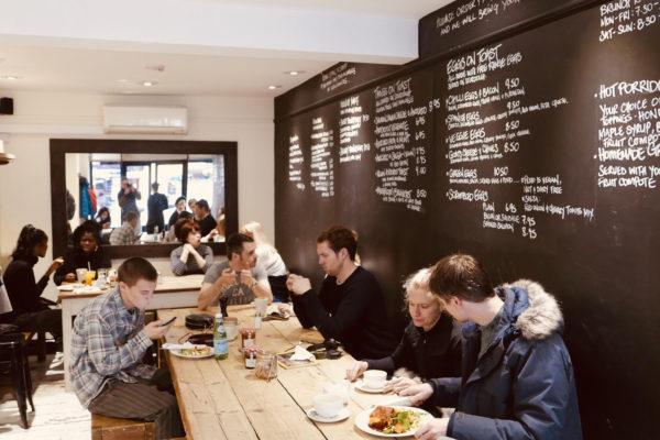 Inside Pimlico Fresh Cafe