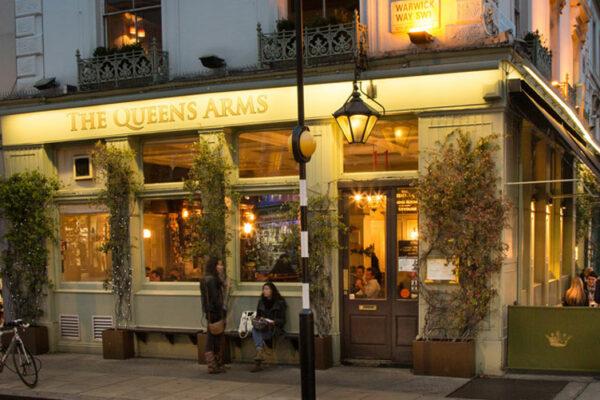 Queens Arms – your local gastropub in Pimlico