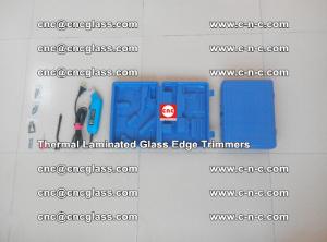 Thermal Laminated Glass Edges Trimmers, for EVA, PVB, SGP, TPU (48)