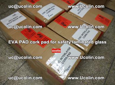 EVA PAD cork pad for safety glazing glass separation (1)