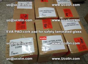 EVA PAD cork pad for safety glazing glass separation (10)