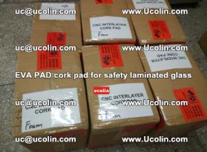 EVA PAD cork pad for safety glazing glass separation (11)