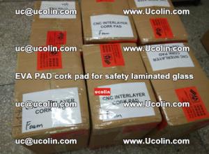 EVA PAD cork pad for safety glazing glass separation (12)