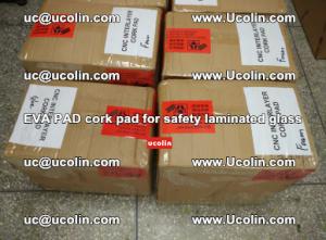 EVA PAD cork pad for safety glazing glass separation (14)