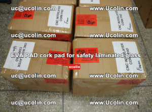 EVA PAD cork pad for safety glazing glass separation (15)