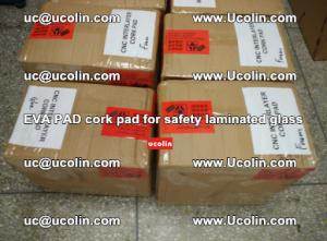 EVA PAD cork pad for safety glazing glass separation (16)