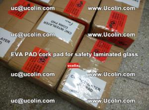 EVA PAD cork pad for safety glazing glass separation (17)