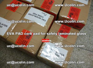 EVA PAD cork pad for safety glazing glass separation (18)