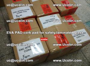 EVA PAD cork pad for safety glazing glass separation (22)