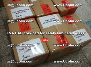 EVA PAD cork pad for safety glazing glass separation (23)