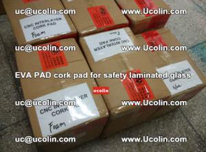 EVA PAD cork pad for safety glazing glass separation (24)