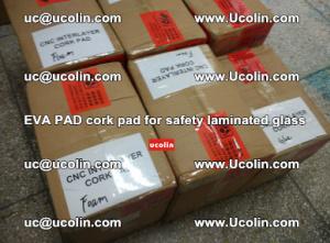EVA PAD cork pad for safety glazing glass separation (26)