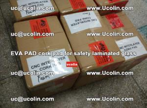 EVA PAD cork pad for safety glazing glass separation (28)