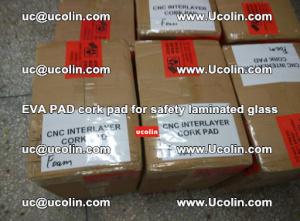 EVA PAD cork pad for safety glazing glass separation (3)
