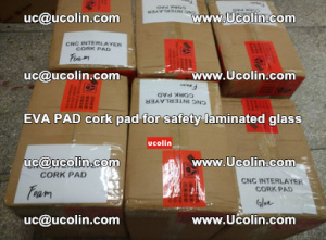 EVA PAD cork pad for safety glazing glass separation (35)