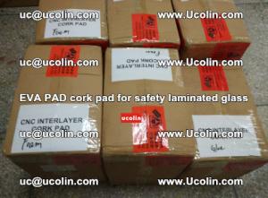 EVA PAD cork pad for safety glazing glass separation (38)