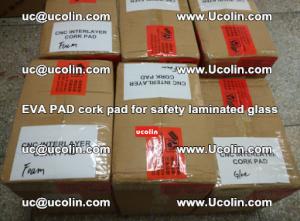 EVA PAD cork pad for safety glazing glass separation (39)