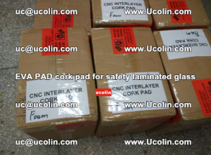 EVA PAD cork pad for safety glazing glass separation (4)
