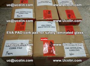 EVA PAD cork pad for safety glazing glass separation (40)
