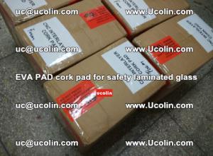 EVA PAD cork pad for safety glazing glass separation (44)