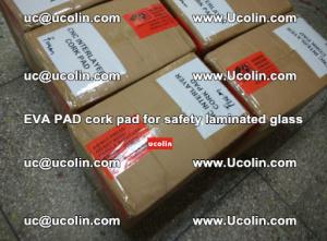 EVA PAD cork pad for safety glazing glass separation (45)