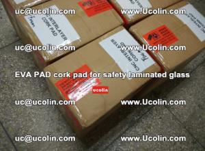 EVA PAD cork pad for safety glazing glass separation (47)