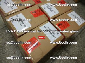 EVA PAD cork pad for safety glazing glass separation (49)