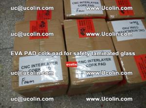 EVA PAD cork pad for safety glazing glass separation (5)