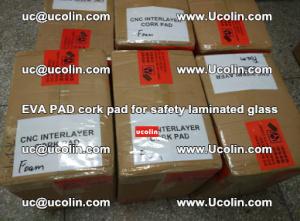 EVA PAD cork pad for safety glazing glass separation (52)