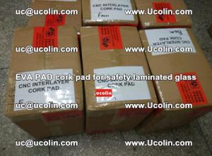 EVA PAD cork pad for safety glazing glass separation (56)