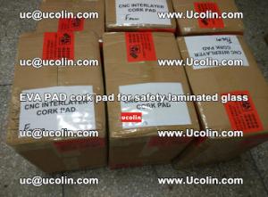 EVA PAD cork pad for safety glazing glass separation (57)