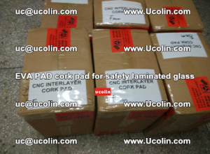 EVA PAD cork pad for safety glazing glass separation (58)
