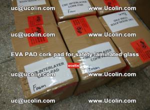 EVA PAD cork pad for safety glazing glass separation (60)