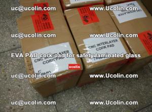 EVA PAD cork pad for safety glazing glass separation (62)