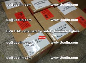 EVA PAD cork pad for safety glazing glass separation (63)
