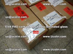 EVA PAD cork pad for safety glazing glass separation (66)