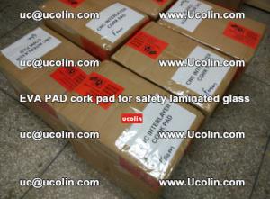 EVA PAD cork pad for safety glazing glass separation (68)