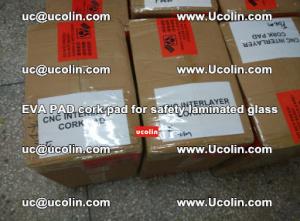EVA PAD cork pad for safety glazing glass separation (8)