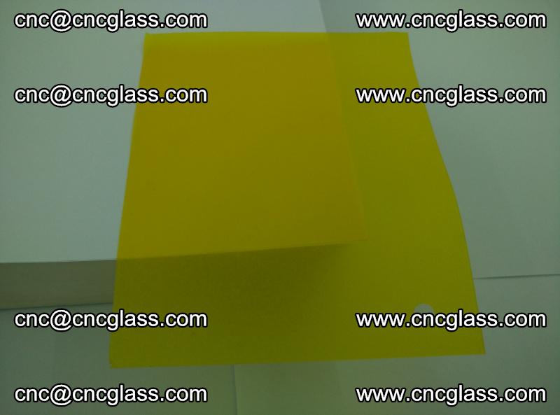 Eva glass laminating interlayer foil film Transparent clear color (lemon yellow membrane) (3)