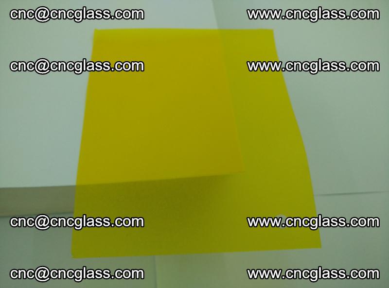 Eva glass laminating interlayer foil film Transparent clear color (yellow lemon) (10)