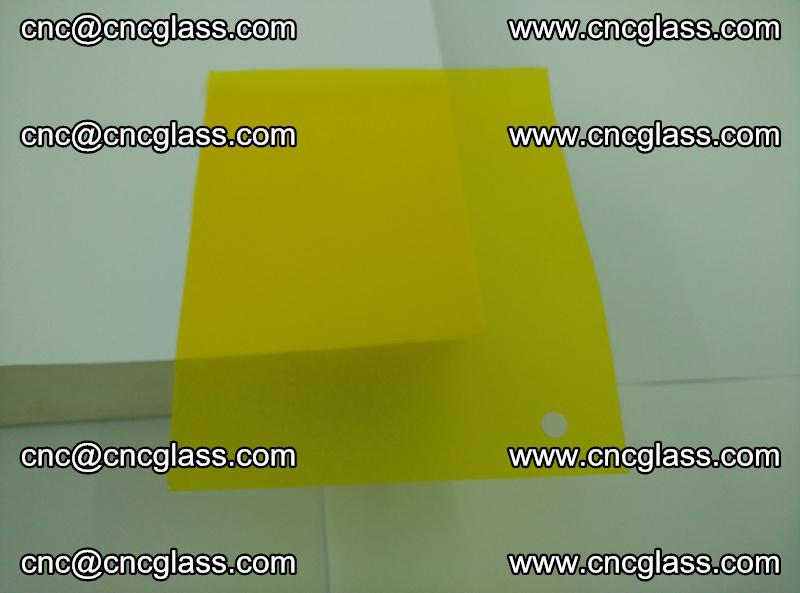 Eva glass laminating interlayer foil film Transparent clear color (yellow lemon) (13)