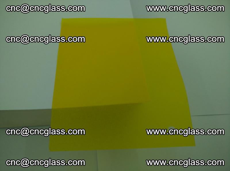 Eva glass laminating interlayer foil film Transparent clear color (yellow lemon) (17)