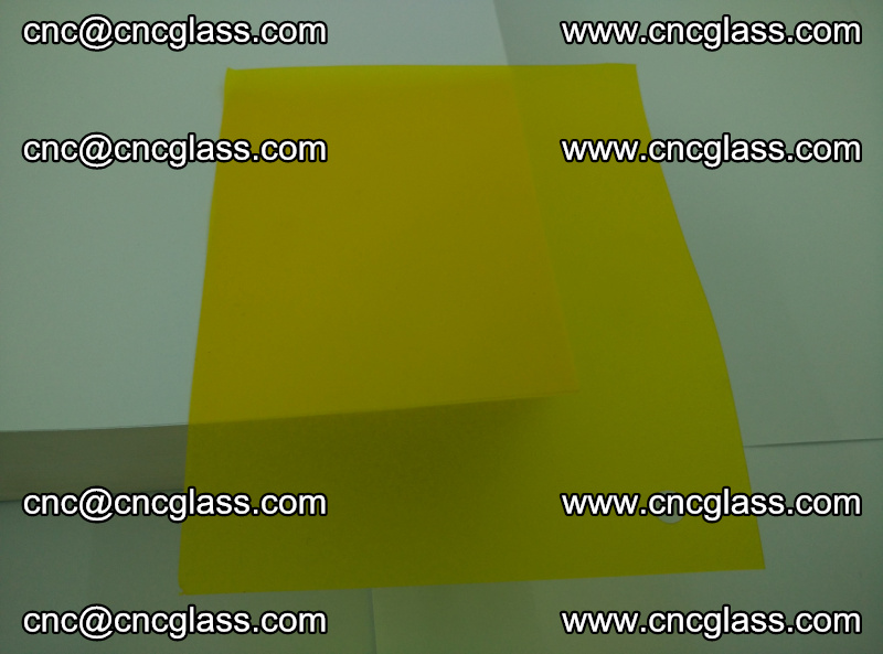 Eva glass laminating interlayer foil film Transparent clear color (yellow lemon) (19)