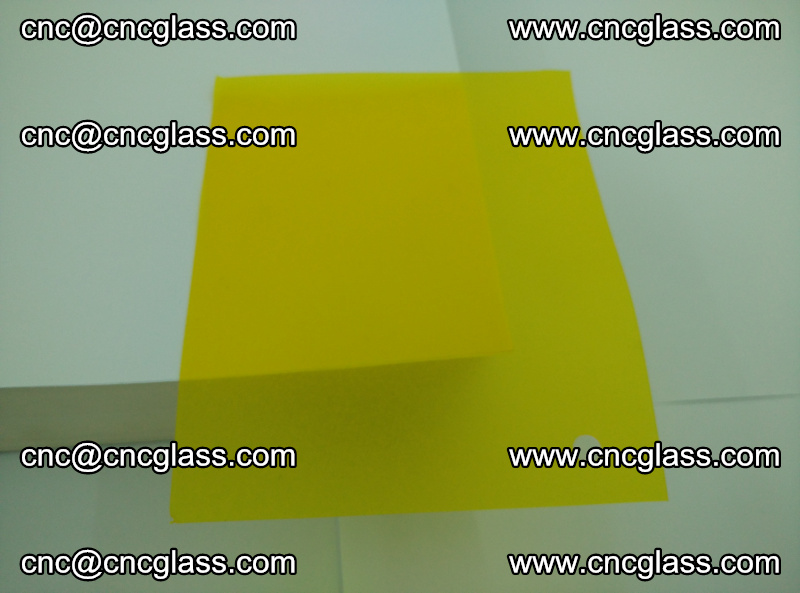 Eva glass laminating interlayer foil film Transparent clear color (yellow lemon) (2)